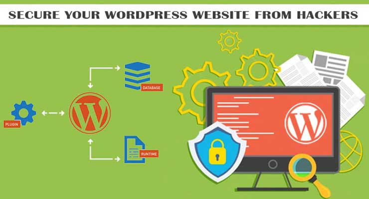 secure wordpress website from hackers